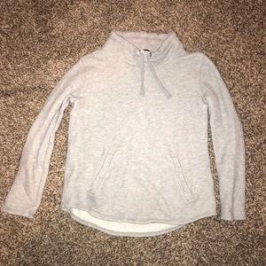 J Crew Factory gray sweatshirt